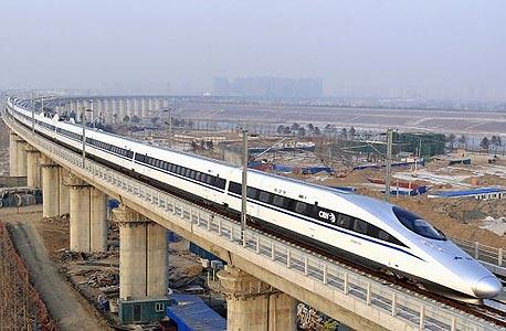 """הרכבת תנוע במהירות ממוצעת של 354 קמ""""ש"""