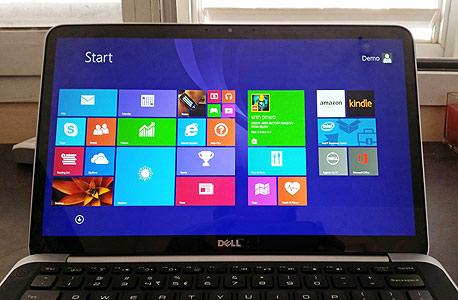 לפטופ Dell XPS 13 אולטרה בוק, צילום: ניצן סדן