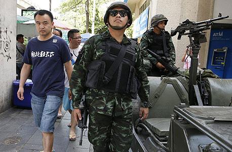 הצבא התאילנדי מנסה להעביר חוקה חדשה, צילום: אי פי איי