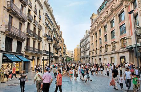 """ברצלונה, """"עיר מדינה"""" כהגדרת טאלב. """"יש בערי המדינה יותר חיוניות והוגנות, והגודל שלהן הוא האידאלי. מדינות גדולות הן שבירות"""""""