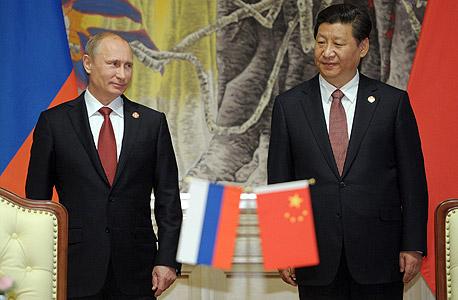 סין רוסיה ולדימיר פוטין שי ג'ינפינג, צילום: אי פי איי