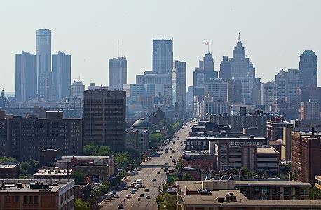 דטרויט, מישיגן, צילום: אי פי איי