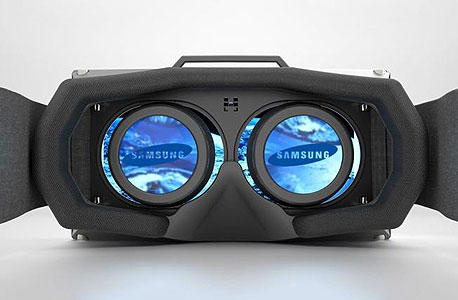 עיצוב קונספט של משקפי VR מתוצרת סמסונג