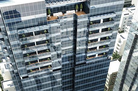 """מגדל אלקטרה """"אלקטרה סיטי"""" חניון אלקטה נמכר, צילום: יסקי מור וסיוון"""