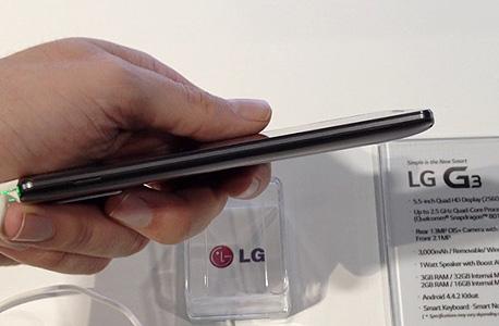 LG G3 הצצה ראשונה 2, צילום: עומר כביר