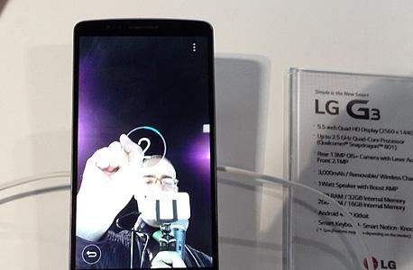 LG G3 הצצה ראשונה 8, צילום: עומר כביר