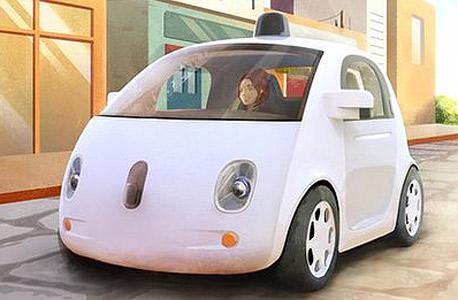 מכונית גוגל רכב אוטונומי מכונית חכמה