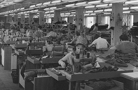 מפעל הבגדים בולשביצ'קה במוסקבה בשנות ה-60