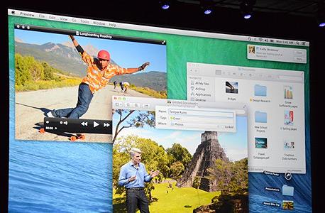 אפל OS X יוסמיטי מערכות הפעלה