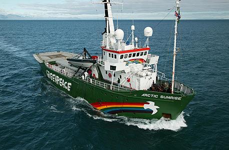 ספינה של גרינפיס, צילום: Steve Morgan / Greenpeace