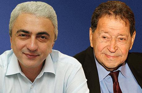 פואד בן אליעזר ואברהם  נניקשווילי, צילום: יריב כץ