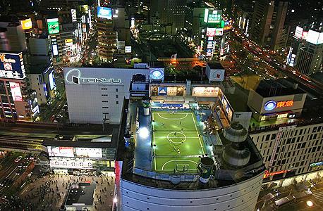 מגרש כדורגל אדידס פוטסל פארק שיבויה טוקיו יפן