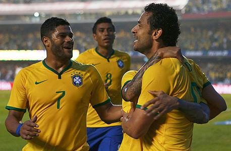 נבחרת ברזיל. אל תצפו לקרנבל, צילום: רויטרס