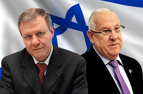 רובי ריבלין ומאיר שטרית, צילום: אלעד גרשגורן, גיא אסייאג