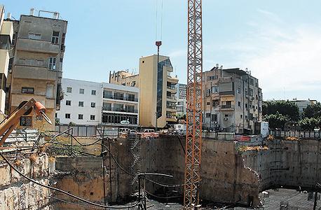 בנייה בתל אביב. רמת המחירים הגבוהה ביותר מבין הערים הגדולות, צילום: אוראל כהן