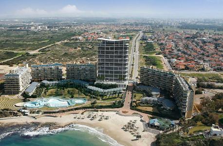 הדמיית מלון 'כפר הים' בחרה