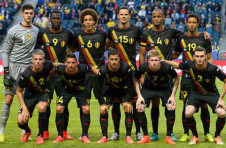 נבחרת בלגיה. הכנסות של 50 מיליון יורו לא מנעו גירעון של 4.5 מיליון יורו, צילם: אי פי איי