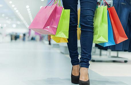 ירידה של 11.7% במכירות הקניונים האזוריים , צילום: שאטרסטוק