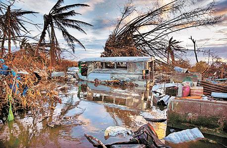 סופת הטייפון בפיליפינים, צילום: בלומברג