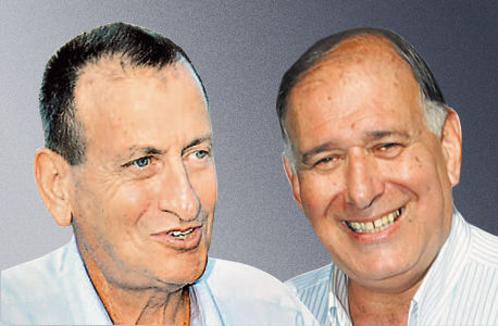 """ראש עיריית חיפה יונה יהב (מימין) וראש עיריית ת""""א רון חולדאי. מבקשים העלאה חריגה"""
