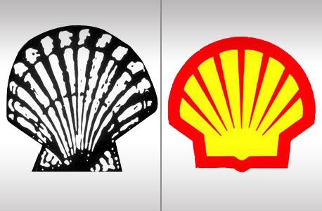 הלוגו של חברת האנרגיה של. הקונכיה המקורית מ-1904