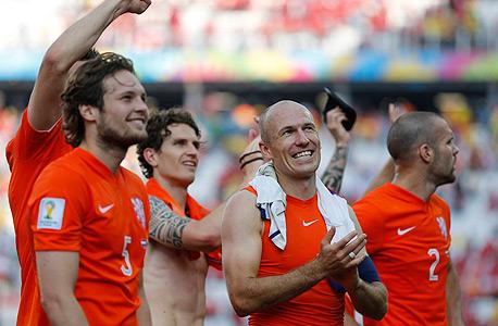 נבחרת הולנד 2014. הכי הולנדית מאז 1974, צילום: איי פי