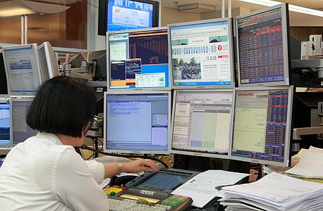 המסחר בבורסה