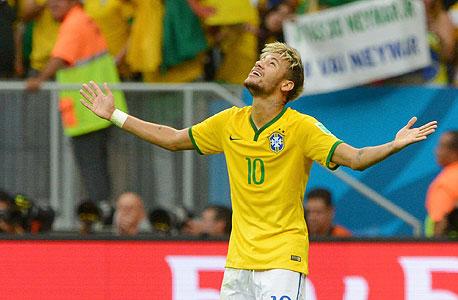 ניימאר חלוץ נבחרת ברזיל, צילום: אם סי טי