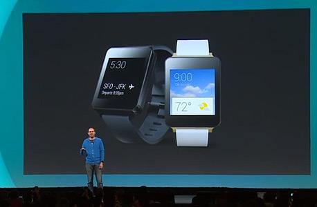 שעון ה-G Watch של LG