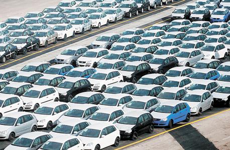 מכוניות בנמל אשדוד