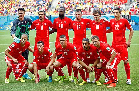 נבחרת שווייץ. 6 מהגרים ו-6 בני מהגרים, צילום: אימג