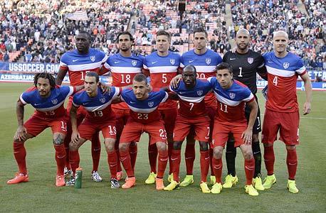 """נבחרת ארה""""ב. 5 מהגרים ו-8 בני מהגרים, צילום: אי פי איי"""