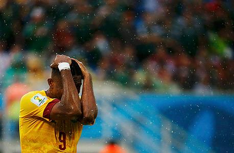 סמואל אטו מנבחרת קמרון. האם קונים המשחקים הגיעו למונדיאל?, צילום: רויטרס