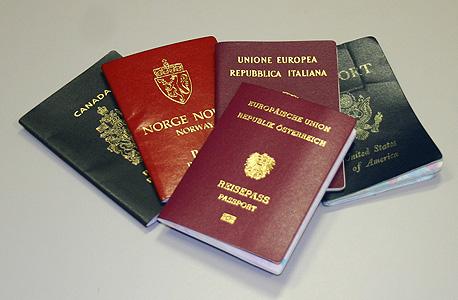 דרכונים זרים. אפשרות ללמוד בחינם