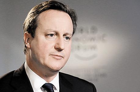 דיויד קמרון, ראש ממשלת בריטניה. סוגיית הנשק מסעירה את הקואליציה