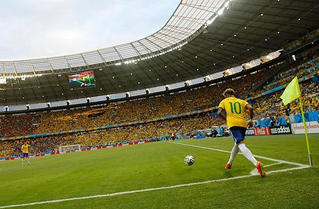 המונדיאל בברזיל. 15 מיליארד דולר, צילום: רויטרס