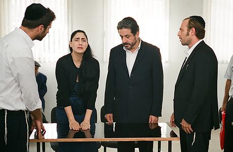 פנאי ה סרט גט רונית אלקבץ שלומי אלקבץ, צילום: יובל אהרוני