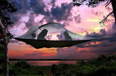 עלות האוהלים נעה בין 599 דולר ל-749 דולר בהתאם לדגם, צילום: Flickr / Tentsile