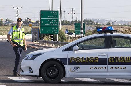 משטרת התנועה, צילום: אי אף פי