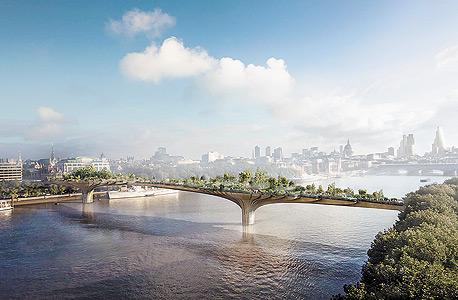 הדמיית הגן התלוי בלונדון