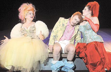 פנאי תיאטרון הקאמרי כולם רוצים לחיות תמר קינן רמי ברוך ענת וקסמן
