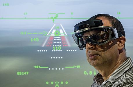 """וידאו סימולטור טיסה אלביט מערכות, צילום: יח""""צ אלביט"""