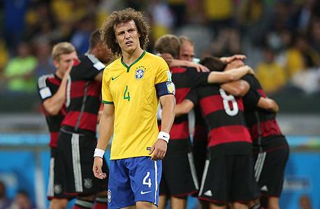 דויד לואיז נגד נבחרת גרמניה. לא כוחות