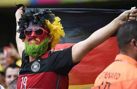 אוהד נבחרת גרמניה. איכות, צילום: איי אף פי