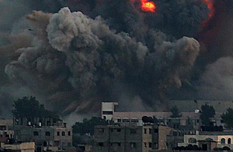 הפצצות של חיל האוויר בעזה