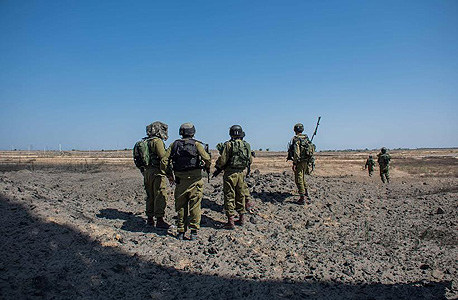 """כיפת ברזל צוק איתן עזה לחימה חיילים צה""""ל צבא טילים טנק טנקים מלחמה לחימה, צילום: דו""""צ"""