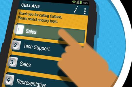 אפליקציה Callvu