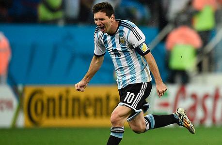 ליאו מסי נבחרת ארגנטינה מונדיאל 2014, צילום: רויטרס