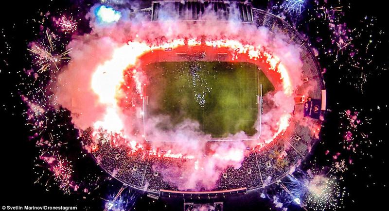 איצטדיון ואסיל לווסקי בסופיה, בולגריה. מקום שלישי בבחירת הקהל