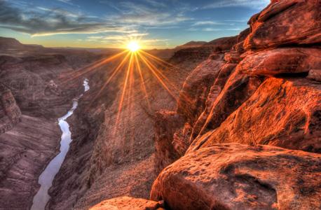 """הגרנד קניון בארה""""ב. מזג אוויר נעים, צילום: שאטרסטוק"""